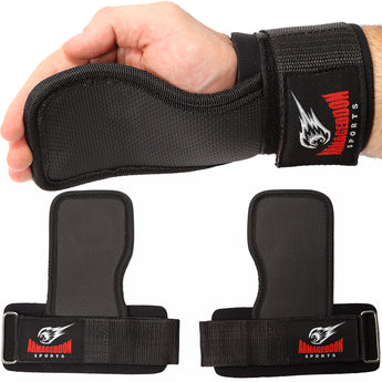 Weight Lifting Hand Grips Workout Pads by Armageddon Sports - Armageddon Sports
