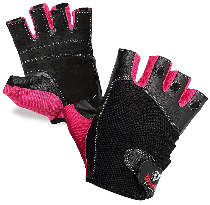 Pink Fitness Gloves for Women, Girls and Ladies by Armageddon Sports - Armageddon Sports