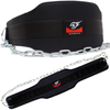 Premium Dipping Belt with the Longest Chain 47 inch (120cm) for Fitness Dips and Pull Up by Armageddon Sports - Armageddon Sports