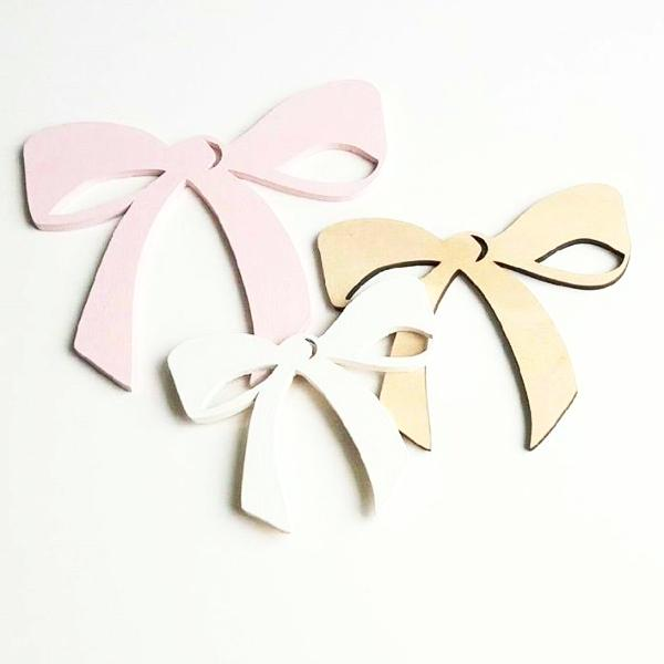 Tied Up Wall Bows Set of 3