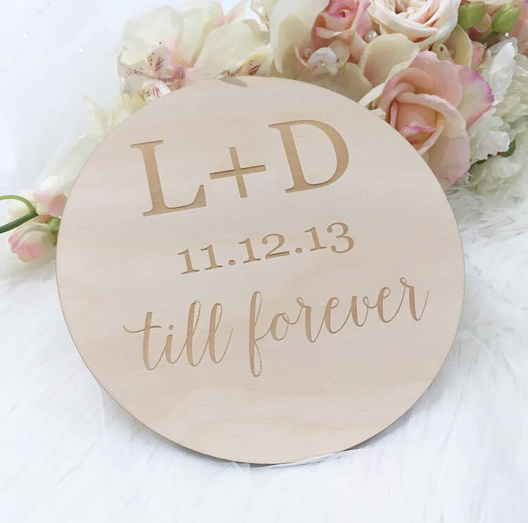 Till Forever Plaque