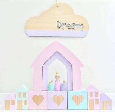 Dream Cloud Plaque