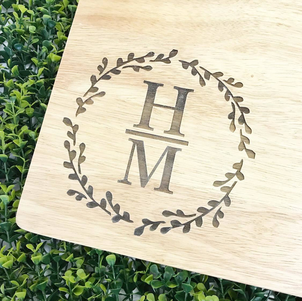 Initial Chopping Board