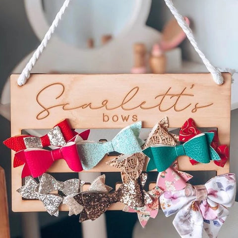 Bow and Clip Holder