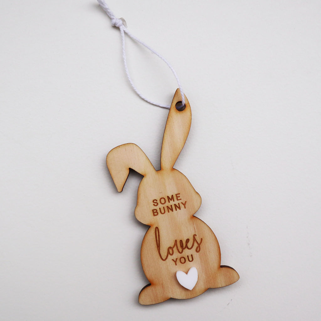Some Bunny Loves you Ornament-11cm