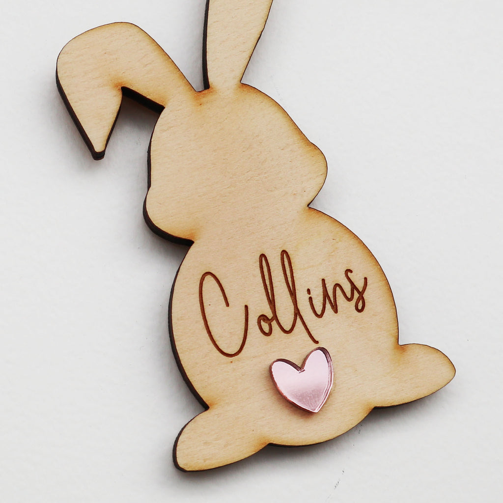 Bunny Personalised Ornament- 11cm