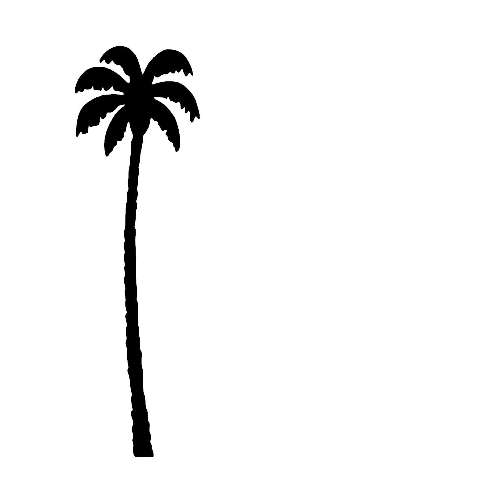 Palm Tree 2 Week Tattoo
