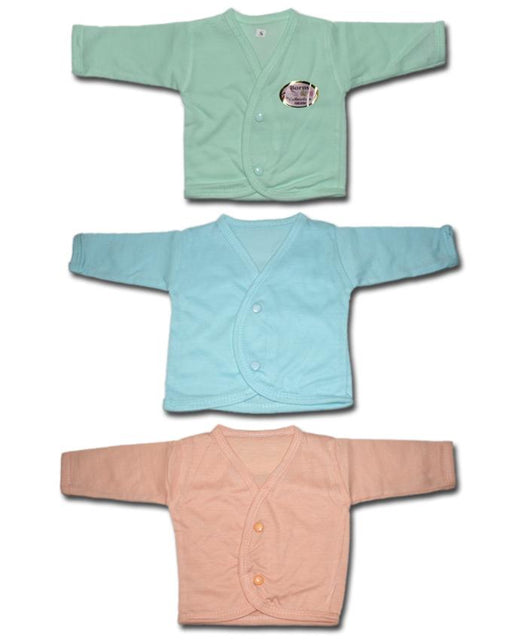 Babies Full Sleeves Inner Vests - Pack of 3 - Hiffey