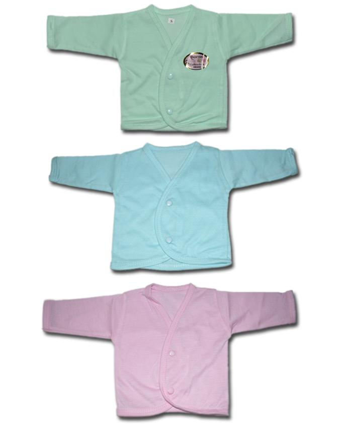 Babies Full Sleeves Inner Vests - Pack of 3