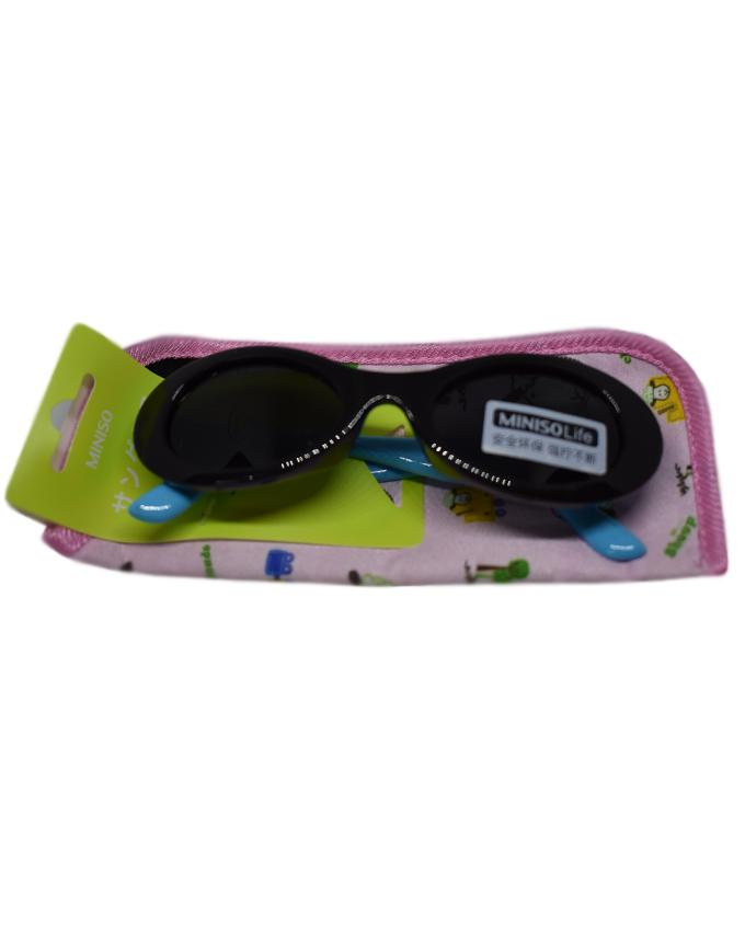 Black Sunglasses with Classic Pouch for Kids
