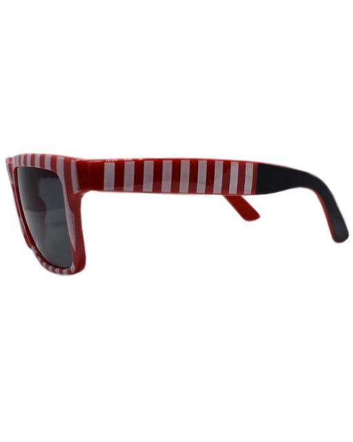 Red with White Strips Sunglasses for Kids - Hiffey