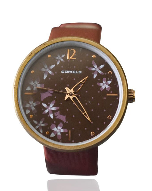 Lovely Women's Casual Flowers Comely Watch - Hiffey