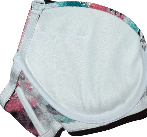 Multicolour Underwired Bra Panty Set for Women - Hiffey