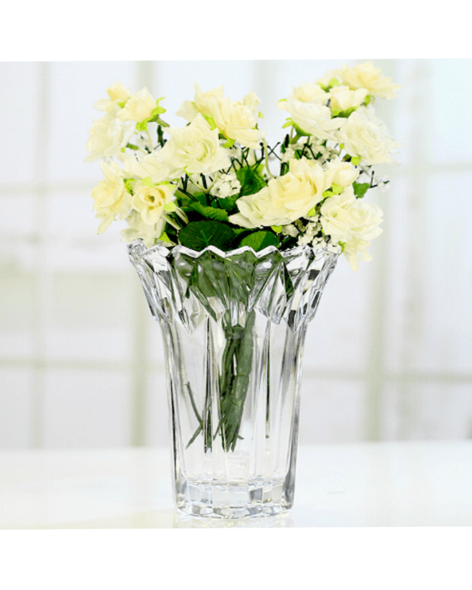Ice Love Glass Vase