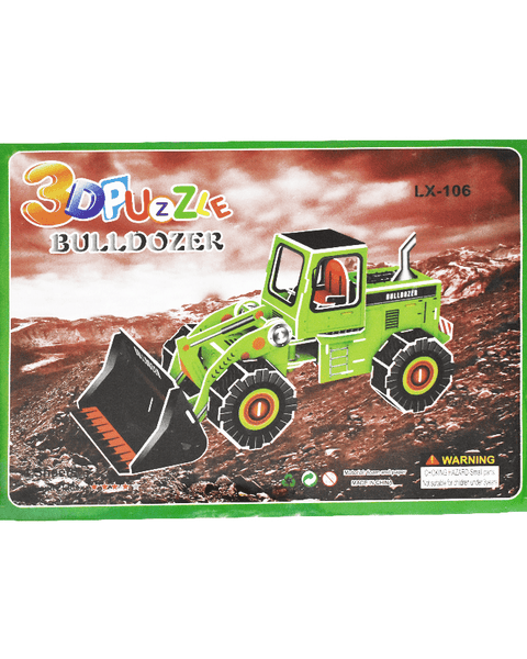 3D Puzzle Toy - Bulldozer