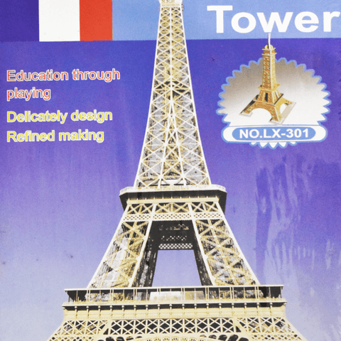3D Puzzle Toy - Eiffel Tower