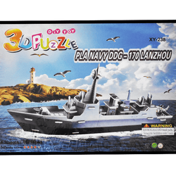 3D Puzzle Toy - PLA Navy DDG-170 LANZHOU
