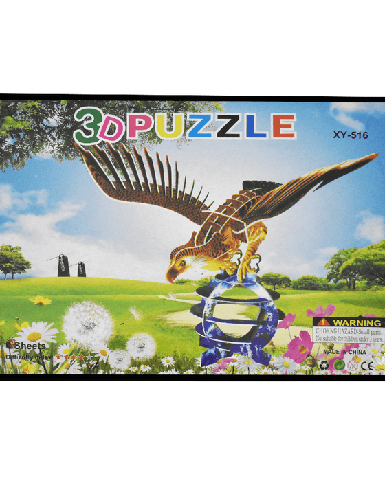 3D Puzzle Toy - Eagle XY-516 - Hiffey