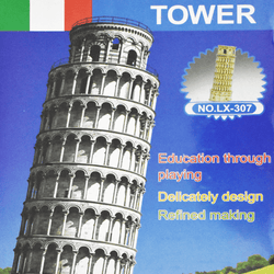 3D Puzzle Toy - Leaning Tower