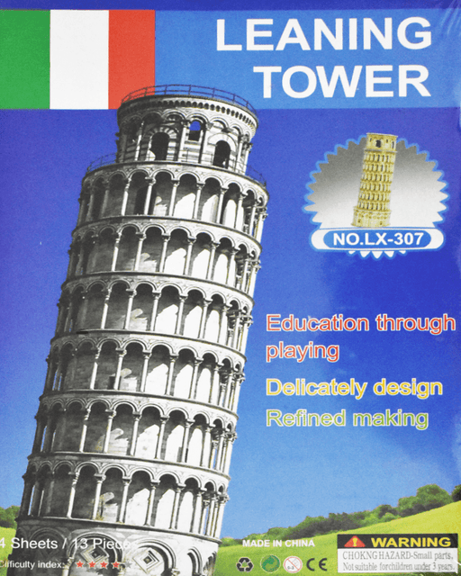 3D Puzzle Toy - Leaning Tower - Hiffey