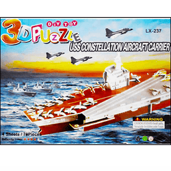 3D Puzzle Toy - US Constellation Aircraft Carrier