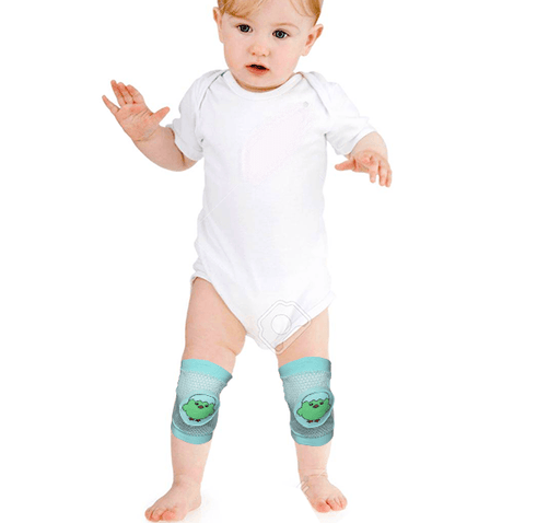 Cotton Kids Leg Warmer Anti Slip Crawling Protector Knee Caps - Hiffey