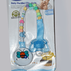 Baby Pacifier with Clip Chain