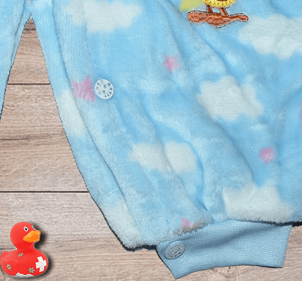 Newborn Baby Winter Fleece warm Romper