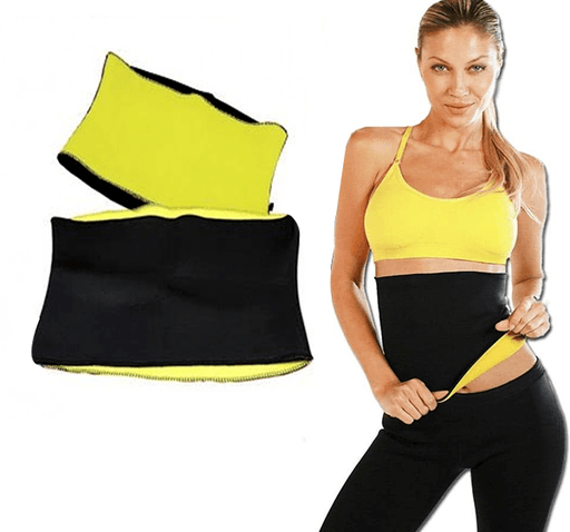 Hot Shaper Stretch Neoprene Slimming Self-heating Waist Belt - Hiffey
