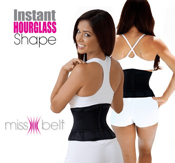 Miss Belt Look Slimmer Instant Hourglass Shape Belt - Hiffey