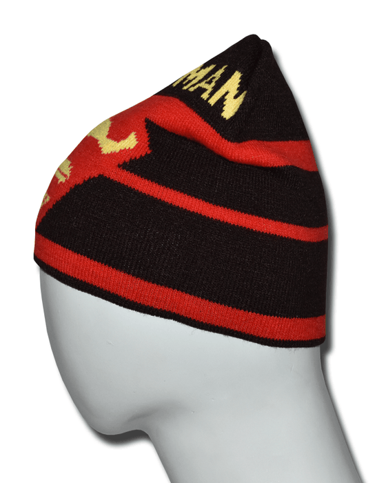 Superman Winter Beanie Cap for Men - Brown - Hiffey