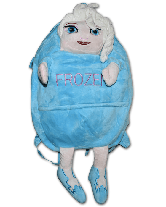 Frozen High Quality Plush Shoulder Bag for Kids - Large - Hiffey