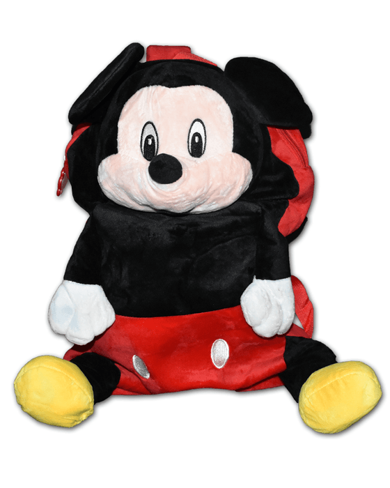 Mickey Mouse High Quality Plush Shoulder Bag for Kids - Large - Hiffey