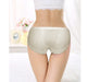 White Pure Cotton Soft Transparent Lingerie Panty for Ladies - Hiffey