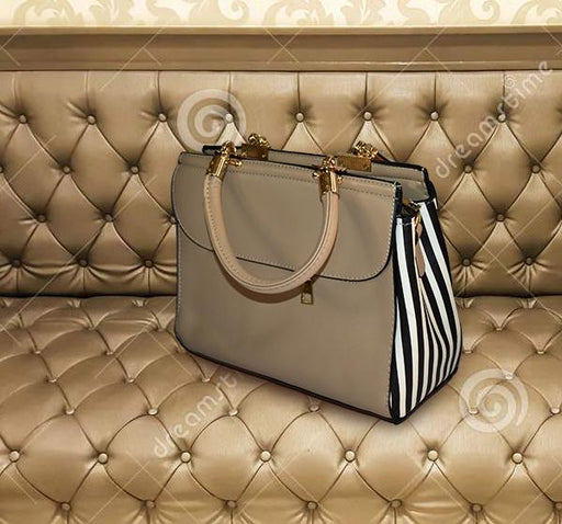 Designer Luxury Mini Handbag for Ladies - Beige - Hiffey