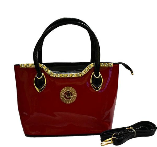 Casual Fashion Shoulder Handbag for Ladies - Red - Hiffey