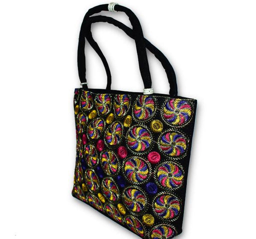 Cultural Embroidered Handbag College Bag for Girls 146202 - Hiffey