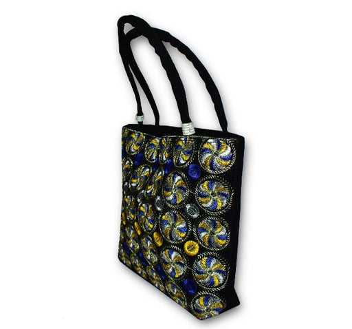 Cultural Embroidered Handbag College Bag for Girls 146203 - Hiffey