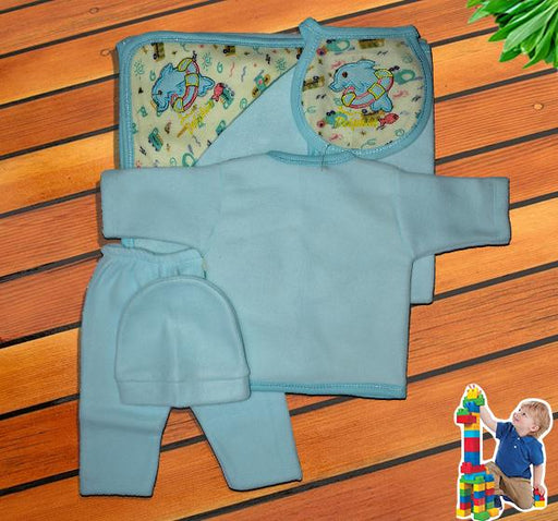 Dolphin Newborn Clothes Gift Set - Sky Blue - Hiffey