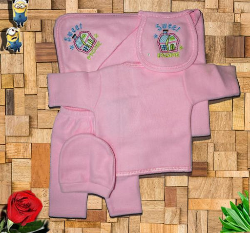 Home Newborn Baby Clothes Gift Set - Pink - Hiffey