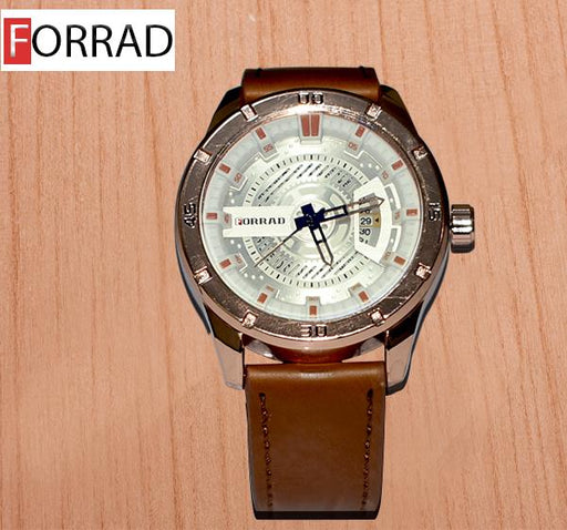 Forrad Analogue Golden Dial Watch for Men C187 - Hiffey