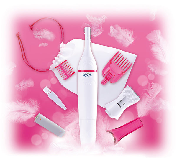 Veet Sensitive Touch Electric Trimmer for Women - Hiffey