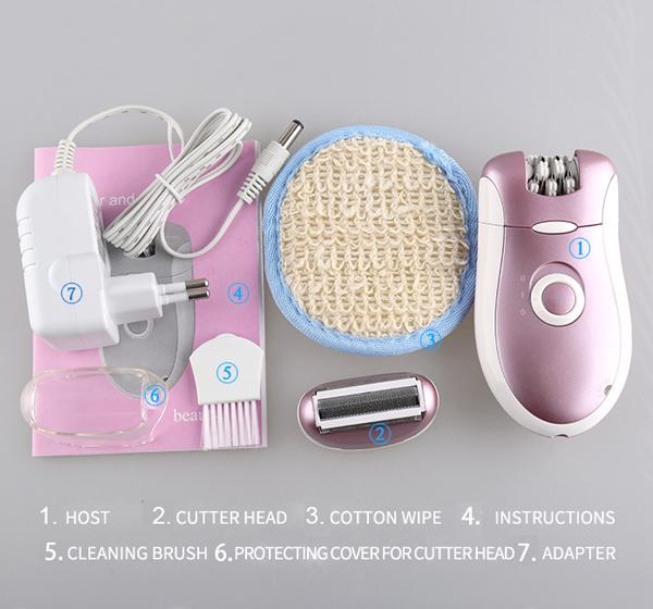 Browns Rechargeable Hair Remover Trimmer for Women BO-2068 - Hiffey