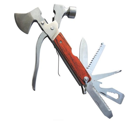 14 in 1 Camping Axe Multitool Hammer - Hiffey