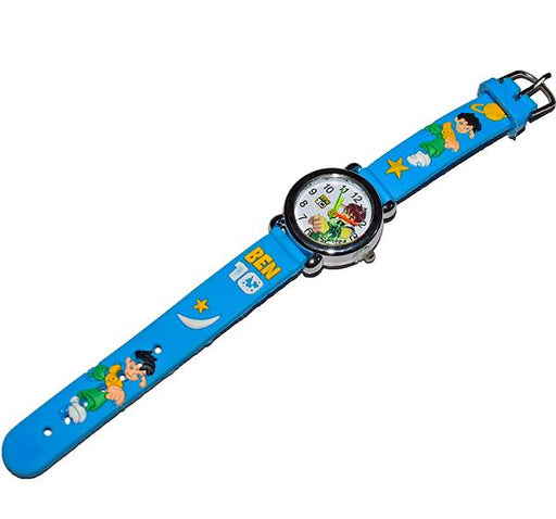 Blue Analog Watch For Kids - Ben10 - Hiffey