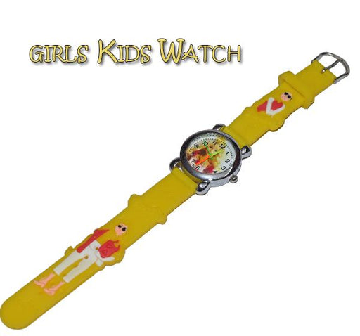 Analog Watch For Kids - Barbie - Hiffey