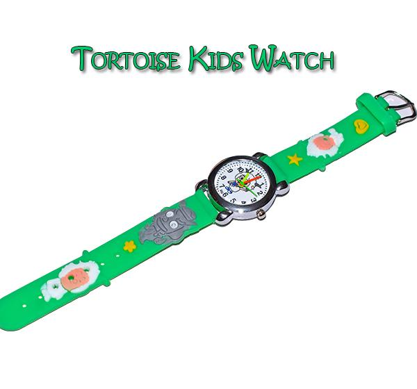 Green Analog Watch For Kids- Sheep Cartoon