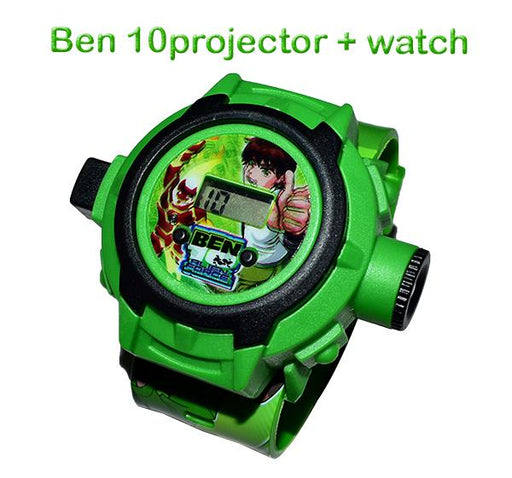 Ben10 Projector Watch For Kids - Hiffey