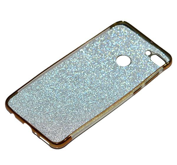 Huawei Y9 - Premium Quality Glitter Mobile Cover - Golden - Hiffey