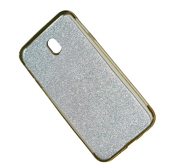 Samsung Galaxy J730 - Premium Quality Glitter Mobile Cover - Golden - Hiffey